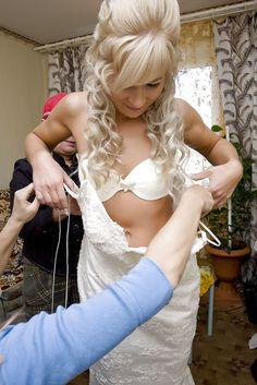 My Kinda Gurlz — thetransgenderbride: Getting her ready for her...