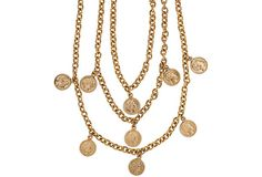 Vintage Coin Necklace on OneKingsLane.com