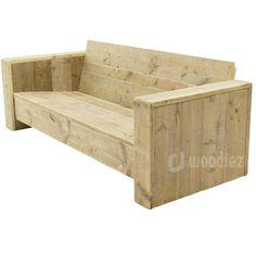 Steigerhouten meubels op maat gemaakt kopen   Woodiez Furniture Box, Outdoor Furniture, Outdoor Decor, Wooden Pallet Projects, Wooden Pallets, Brick Bbq, Backyard Garden Design, Garden Bar, Wood Sofa