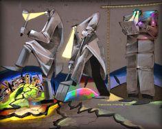 DIE DONNERWETTERHERREN Surrealism, Artworks, Art Pieces, Art