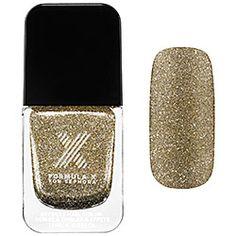Formula X For Sephora - Celestials in Sparklebomb - champagne and  gold glitter shift  #sephora