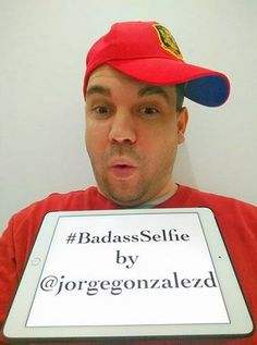 Spain weighs in an is the fourth country to submit a BADASS Selfie! Thank you Jorge Gonzalez del Arco