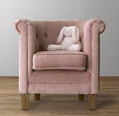 mini-tufted-tub-girls-nursery-pink-velvet-chair.jpeg 646×630 pixels