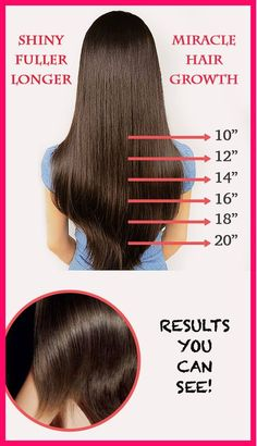 The best way to grow long hair for summer.