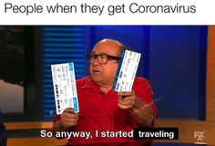 """Memes That Roast People Who Travel With Coronavirus - Funny memes that """"GET IT"""" and want you to too. Get the latest funniest memes and keep up what is going on in the meme-o-sphere. Stupid Funny Memes, Funny Relatable Memes, Funny Posts, Memes Humor, Jokes, True Memes, Funny Stuff, Lol, Football Memes"""