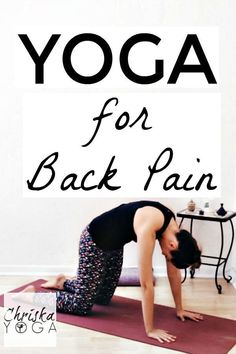 This is a 20 Minute Yoga Class for Back Pain. This is meant for back pain relief, and it will stretch your back relieving pain in the lower back. This yoga routine will provide you with some low back stretches, as well as hip stretches and hamstring stretches, which will help to relieve back pain as well. #LumbalgiaBackPain