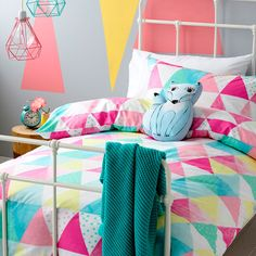 Adairs Kids Girls Tutti Frutti - Bedroom Quilt Covers & Coverlets - Adairs Kids