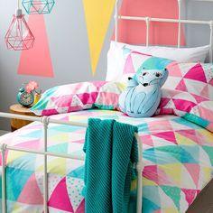 Adairs Kids Girls Tutti Frutti - Bedroom Quilt Covers & Coverlets - Adairs Kids