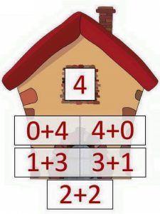 4 toplamını veren sayılar « Evimin Altın Topu