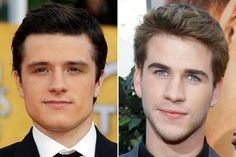 Peeta or Gale? Not only do I like Gale's character more but who can resist Liam Hemsworth and those eyes?