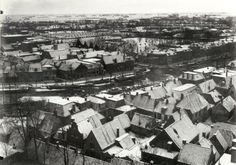 vanaf bonifatsiustoren oostersingel oostergrachtswal vliet 1940