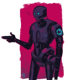 K-2SO Rogue One Star Wars .... k-2so   Tumblr