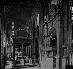 Queen Elizabeth I's Tomb, Westminster Abbey, c. 1910