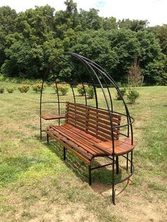 Combination bench and arbor.   Flickr - Photo Sharing!
