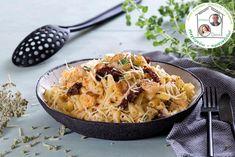 Κοφτό μακαρόνια με γαρίδες και λιαστή ντομάτα - Ντίνα Νικολάου Macaroni And Cheese, Ethnic Recipes, Food, Mac And Cheese, Essen, Meals, Yemek, Eten