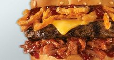 "Memphis BBQ Burger (Carl's Jr.)  The Best Food Inventions Of The Year  It was a watershed year for innovative ""food products"" all around the world"