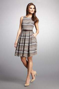 Textured Knit Girly Dress