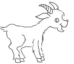 sm animal motifs 28 by love to sew, via Flickr - goat