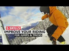 5 Skills to Improve your Riding for Jumps and Tricks - YouTube