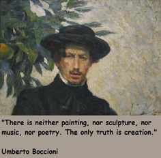 Umberto Boccioni quotations, sayings. Famous quotes of Umberto Boccioni.