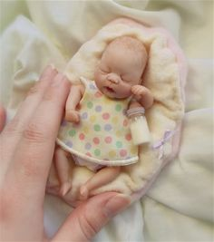 OOAK Baby Girl Sculpt from January of 2011