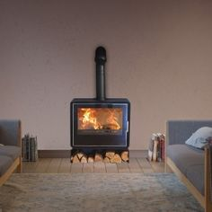 Multi Fuel Stove, Stove Fireplace, Stoves, Fireplaces, Home And Garden, Home Appliances, Wood, Fireplace Set, House Appliances