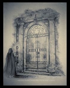 A Gate through Mist by Kaelhiar on deviantART