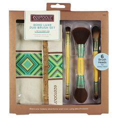 EcoTools Boho Luxe Duo Cosmetic Brush Set : Target