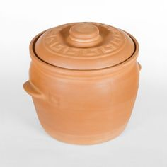 LARGE NATURAL CLAY POT - To sum it up the Claypot is easy to use, lasts long, and simply indispensable. We think that it's pointless to praise this excellent vessel since it praises itself and the right choice of the customer who buys it. Large Pots, Terracotta Pots, Clay Pots, Cookware, Cabbage, Easy, Natural, Diy Kitchen Appliances, Terracotta Plant Pots