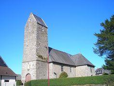 église Saint-Patrice.Saire-la-Verrerie . Normandie