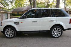 Range Rover Sport Supercharged in Alaska White