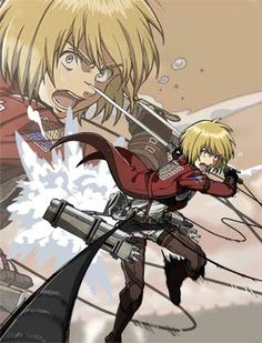 Attack on Titan ~~ Fight! :: Armin