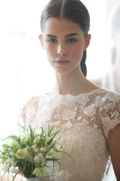 Tip: Take extra precaution if you'll be in the sun at any point in your wedding day. There's nothing pretty about a sunburnt bride!