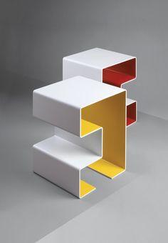 Furniture Line from Switzerland's Kind of Design - Design Milk Steel Furniture, Table Furniture, Mirror Furniture, White Furniture, Cheap Furniture, Garden Furniture, Office Furniture, Painted Furniture, Bedroom Furniture