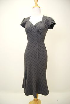 Spectator Vintage Pin Up Dress by Stop Staring Clothing