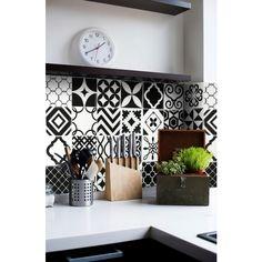 patchwork carrelage blanc carrelage carrelage vintage carrelage mural adhsif vintage adhsif par modle noir mural adhsif en cuisine