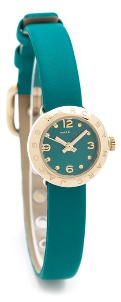 So pretty! Love this color!! Marc Jacobs ●  Watch/Teal