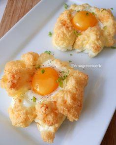 """12.2 mil curtidas, 3,676 comentários - Receitas com Yamily Benigni (@emagrecercerto) no Instagram: """"Me aventurei na cozinha e olha o que saiu , ovos em nuvem. Uma idéia diferente para comer ovos em…"""""""