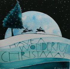 Happy Christmas by samcannonart