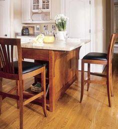 Stickley Furniture - Mission Kitchen Island