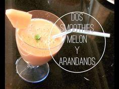 Como hacer LICUADOS SMOOTHIES? 2 RECETAS: una MANGO con MELON y otra ARANDANOS.#smoothies #arandanos #fresas #licuado #melon #mango #frambuesas #naranjas #yogurt