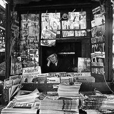 Paper Man, Vivian Maier via Artstack