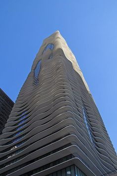 Photos: Touring Chicago's Most Jaw-Dropping Architecture Sites: Chicagoist - Studio Gang's Aqua Tower