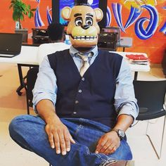 We are having #holloween Parties today and Monday. Today we gave away and gave the kids chances to win costumes and other great stuff. Times can be hard but Blue1647 St. Louis is here to help uplift communities. #tech #chicago #incubator #coworking #ruby
