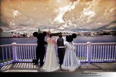 Walt Disney World Wedding Photos at the BoardWalk: Kara + Larne