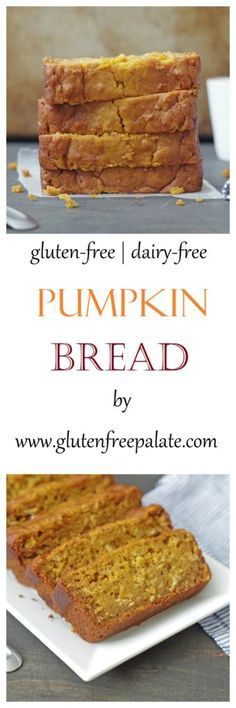 Gluten-Free Pumpkin bread is great any time of the year! This easy, quick, bread…