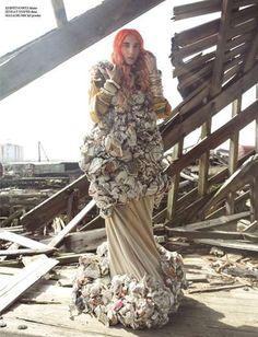 The Nikolai De Vera IN Magazine Editorial Turns Trash to Treasure