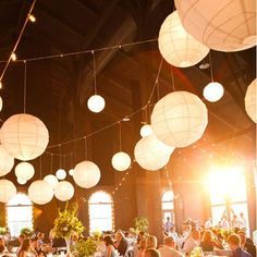 This 20 Inch Round Paper Lantern decorative paper lantern adds incredible new dimension to parties and inside and outside wedding venues.