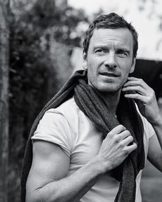 """blog-girl-on-film: """" Michael Fassbender by Bruce Weber 