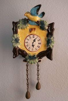 Vintage Cuckoo Clock Wall Pocket No Flaws  #Unbranded